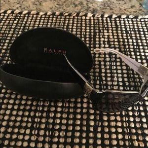 Ralph Lauren black sunglasses.